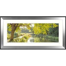 Canalside Sunburst Framed Print