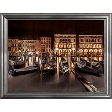 Venice At Night Framed Print