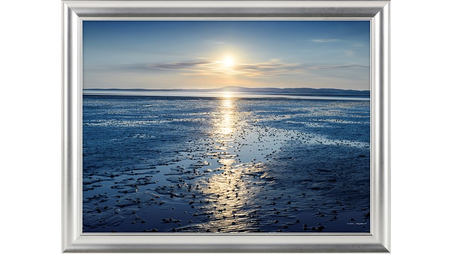 Tide Of Tranquillity Framed Print