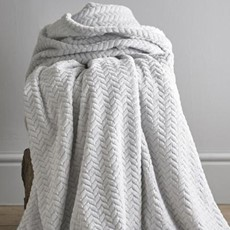 Brampton Throw - Silver