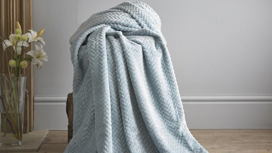 Brampton Throw - Blue