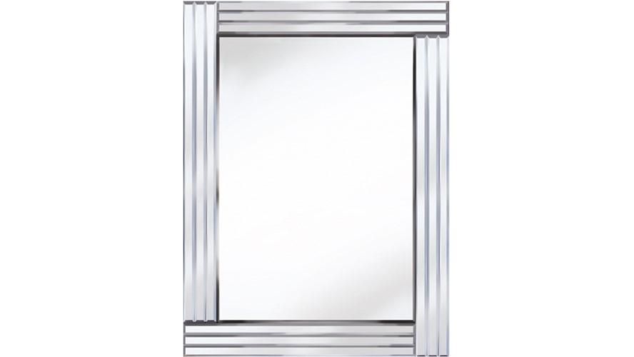 Classic Triple Bar Wall Mirror