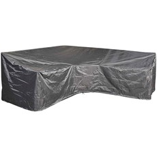 L-Shape High Back Trapeze Corner Lounge Set Cover