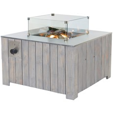 Cosiglass Square Glass Protector for Cosicube Firepit