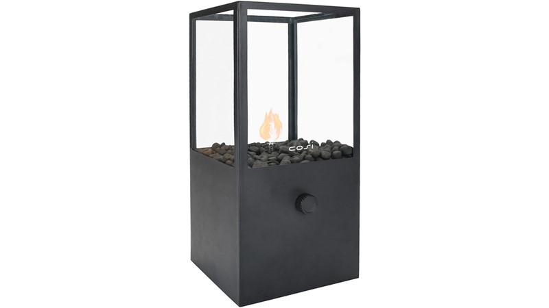 Cosidome High Firepit - Black
