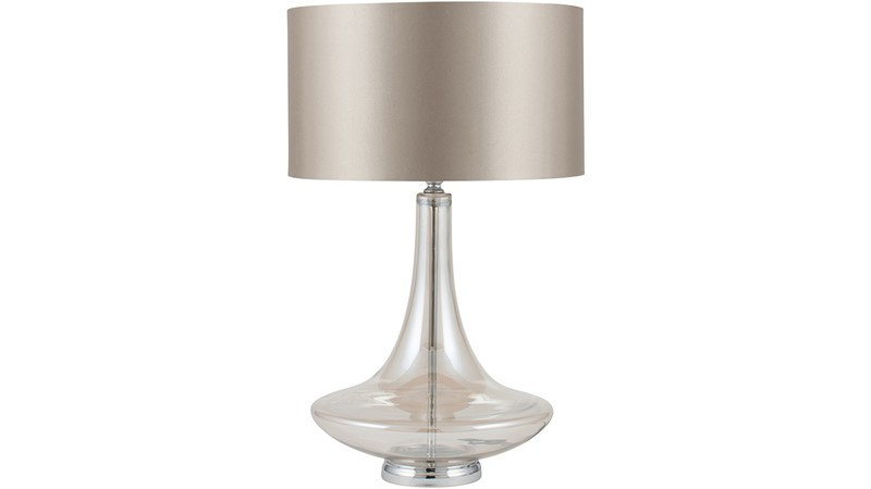 Glass Table Lamp - Lustre