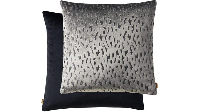 Kai Fleck Square Cushion - Grey