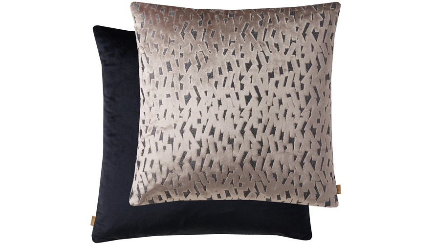 Kai Fleck Square Cushion - Mink
