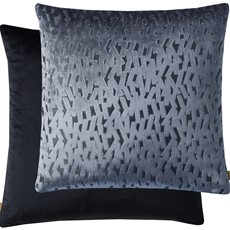Kai Fleck Square Cushion - Blue