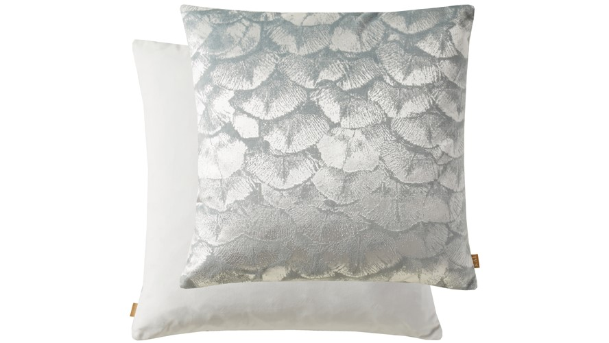 Kai Shell Square Cushion - Grey