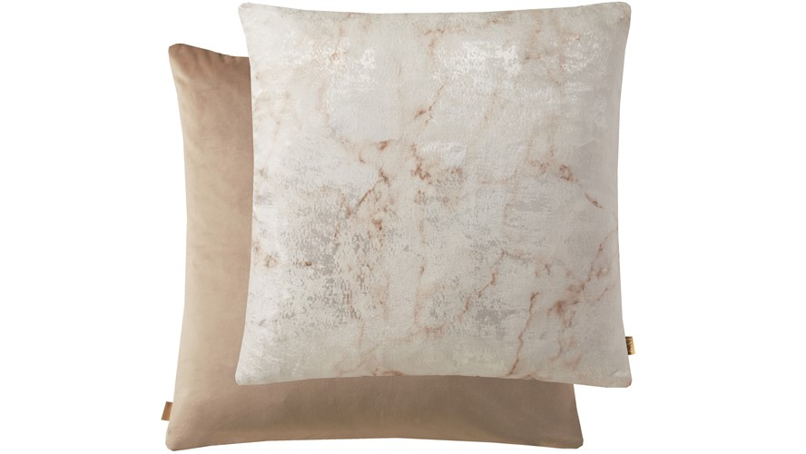 Kai Marble Square Cushion - Pink