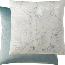 Kai Marble Square Cushion - Blue