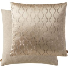 Geometric Square Cushion - Natural