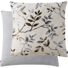 Branch Square Cushion - Grey
