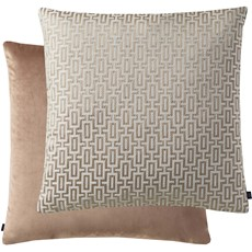 Geometric Cushion - Beige