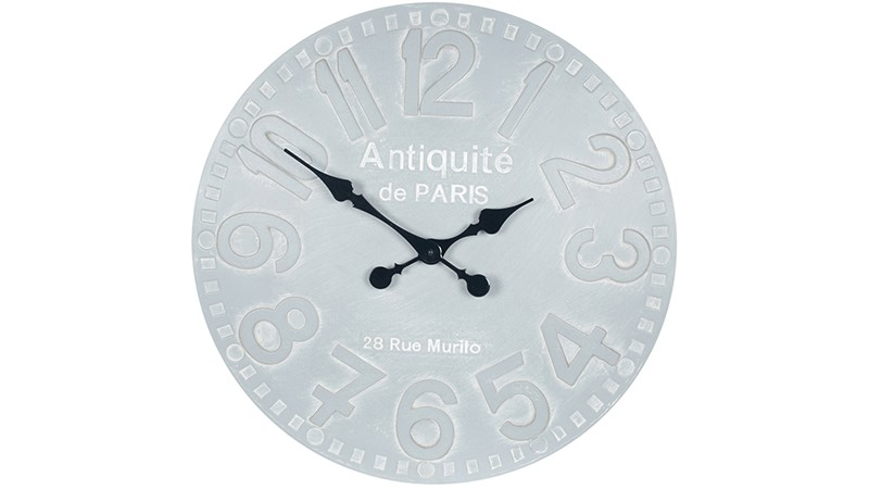 Round Stone Wall Clock