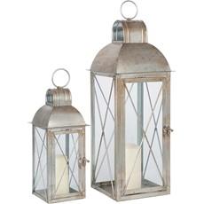 Antique Silver Lantern