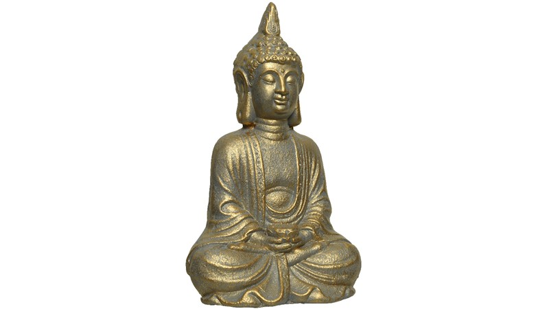 Gold Washed Buddha