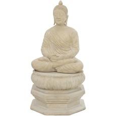 Buddha Sitting on Lotus Stand