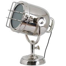 Spotlight Table Lamp - Industrial Nickel