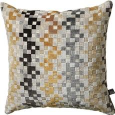 Puzzle Square Cushion - Ochre