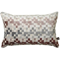 Puzzle Square Cushion - Blush