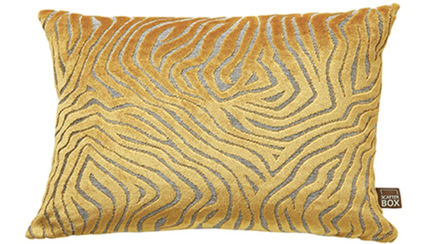 Lana Square Cushion - Yellow