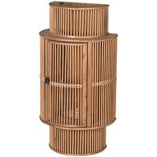 Bamboo Curved Lantern