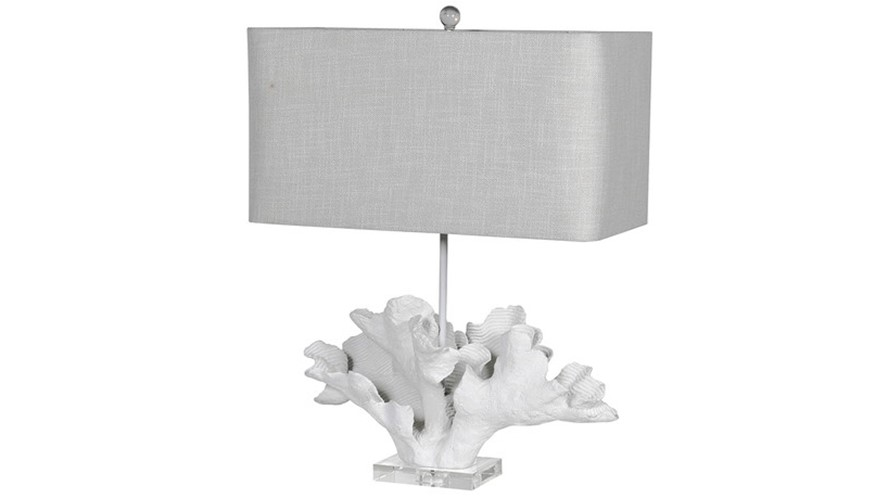 Table Lamp White Coral