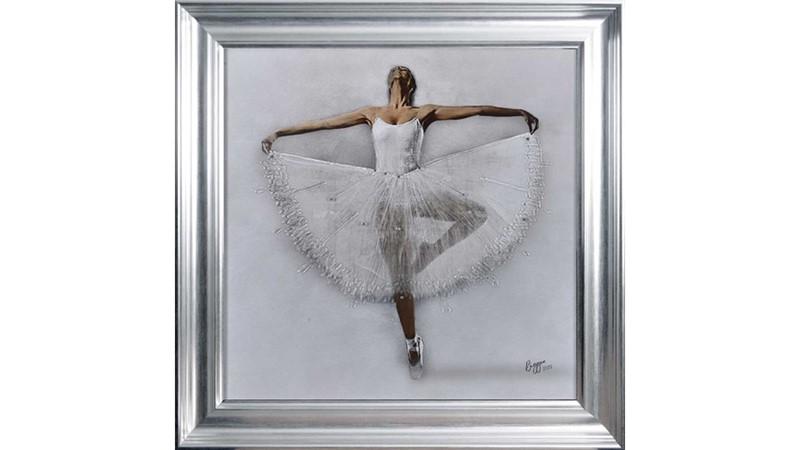 Ballerina Framed Print 2