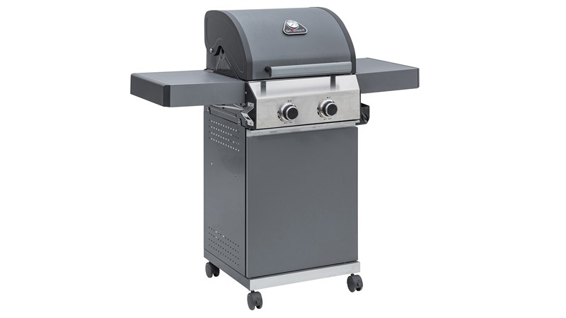 Grillstream Classic 2 Burner - Matt Grey