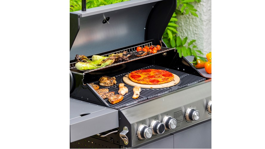 Grillstream Classic 4 Burner - Matt Grey
