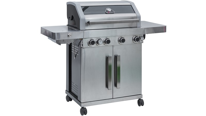 Grillstream Gourmet 4 Burner Stainless Steel