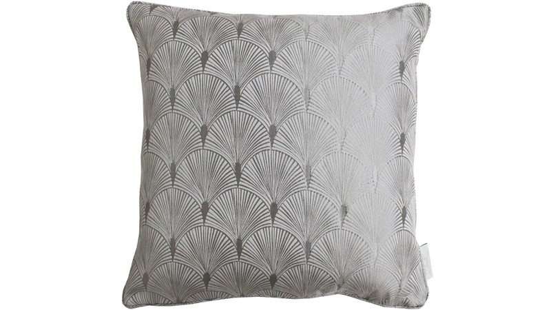 Chateau Blakely Square Cushion - Silver