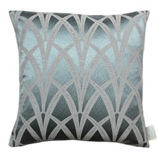 Chateau Broadway Square Cushion - Azure