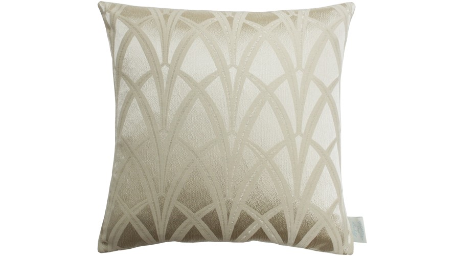 Chateau Broadway Square Cushion - Gold