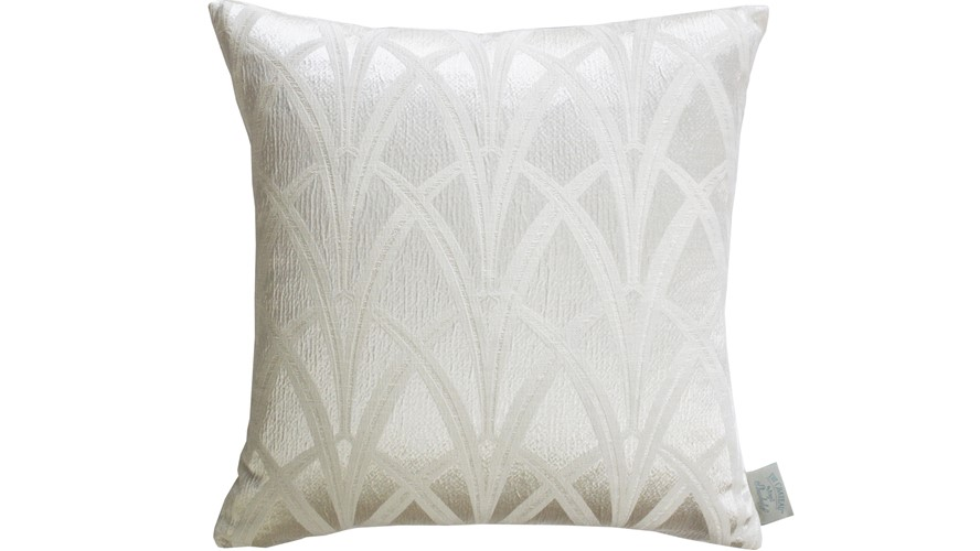 Chateau Broadway Square Cushion - Ivory