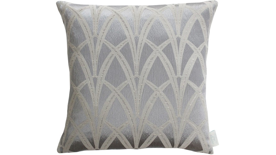Chateau Broadway Square Cushion - Silver