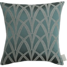 Chateau Broadway Square Cushion - Teal
