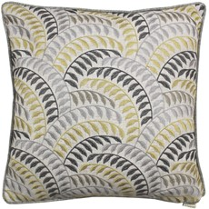 Square Cushion - Ochre