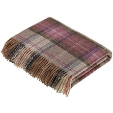 Stroud Throw - Heather