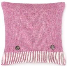 Herringbone Cushion - Pink