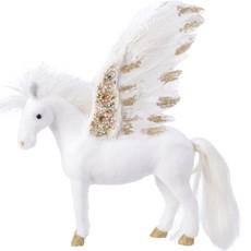 Plush Pegasus Standing - White