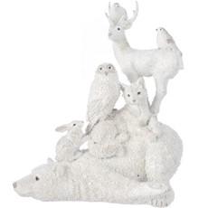 Winter Animals on Polar Bear