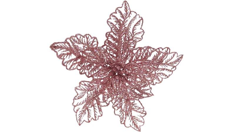 Glitter Poinsettia