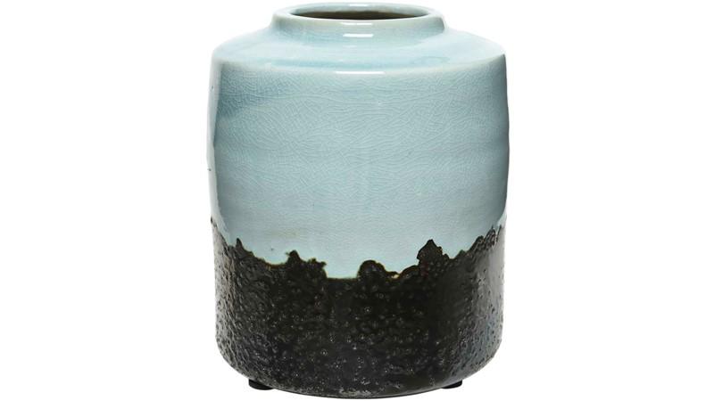 Stoneware Blue Glaze Vase