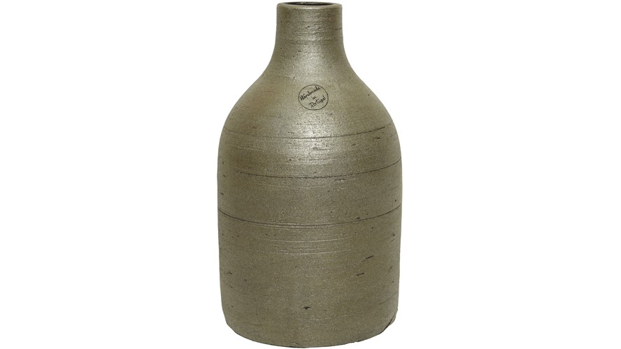 Structured Terracotta Vase - Small