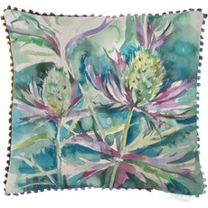 Sea Thistle Square Cushion