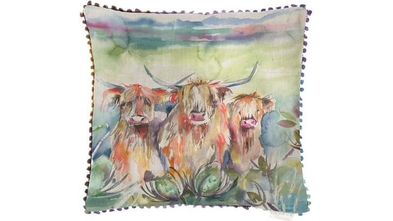 Heilan Herd Square Cushion