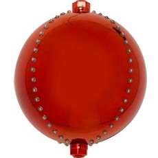 Meteor Shower LED Bauble - Ruby